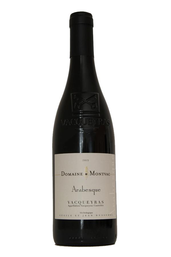 Domaine Montvac Vacqueyras rouge 2015 cuvée Arabesque