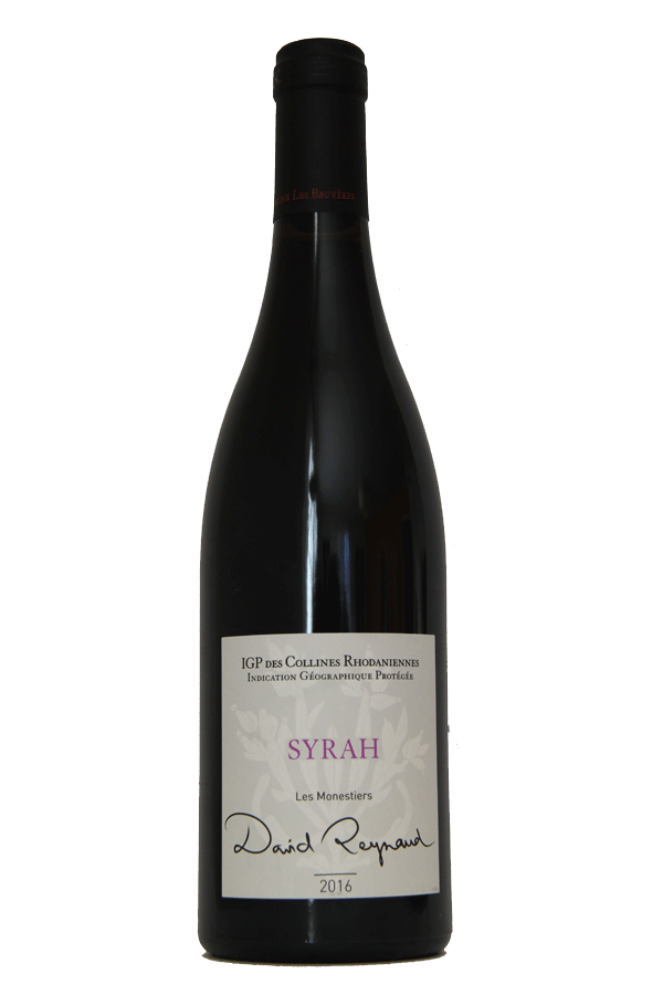 Domaine les Bruyères IGP Syrah rouge 2016 cuvée «les Monestiers»