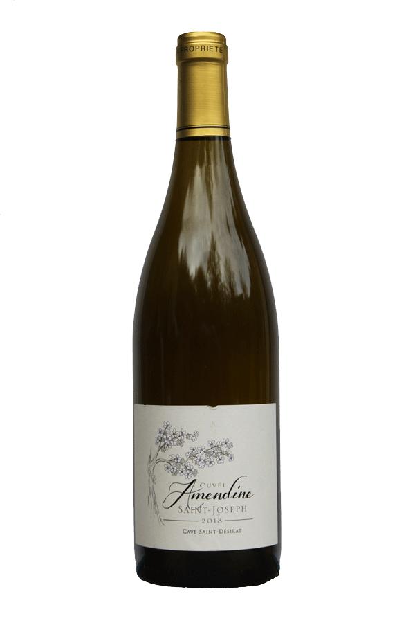 Cave Saint-Désirat AOP Saint-Joseph blanc 2018 cuvée Amendine