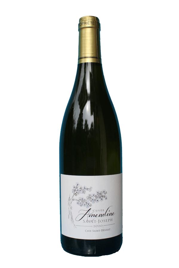 Cave Saint-Désirat AOP Saint-Joseph blanc 2020 cuvée Amendine