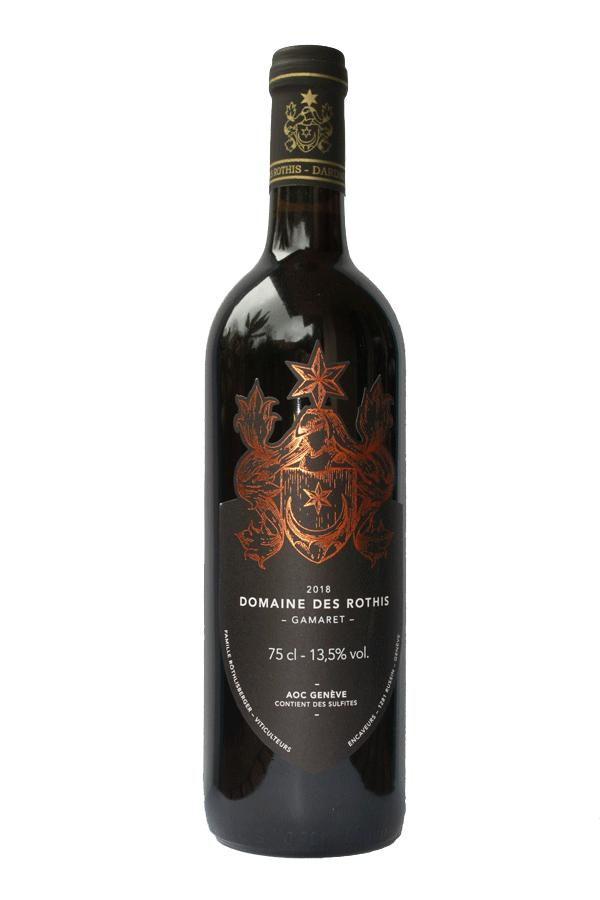 Domaine des Rothis AOC Vin de Genève Gamaret rouge 2018