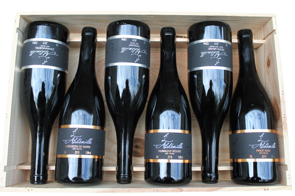 Cave l'Alchémille AOC Vin du Valais carton dégustation