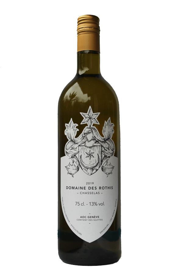 Domaine des Rothis AOC Vin de Genève Chasselas blanc 2019